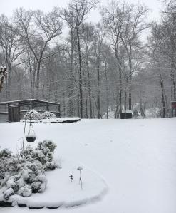 Snow, spring 2018